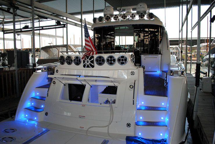 boat stereo wiring marine audio video installation dallas fort XLR Wiring