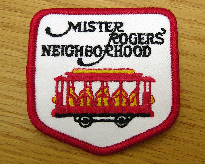 Mister Rogers Neighborhood Logo Patch The Fred Rogers Company Mr Rogers Mister Rogers Neighborhood Fred Rogers