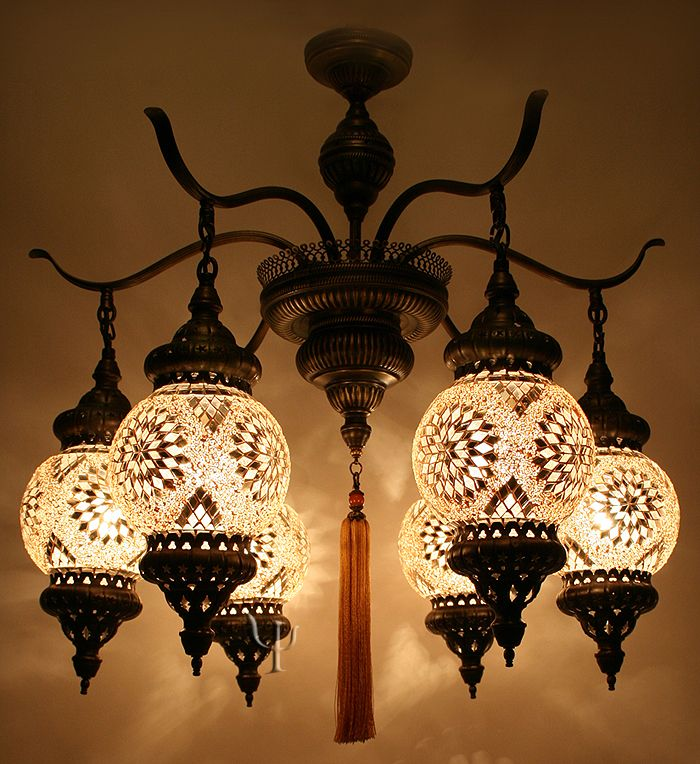 Turkish mosaic chandelier light it up pinterest mosaics turkish mosaic chandelier aloadofball Images