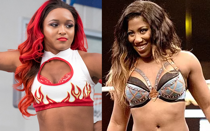 Kiera Hogan Reacts To Ember Moon Ripping Off Her Gimmick Black Wrestlers Pro Wrestling Ember