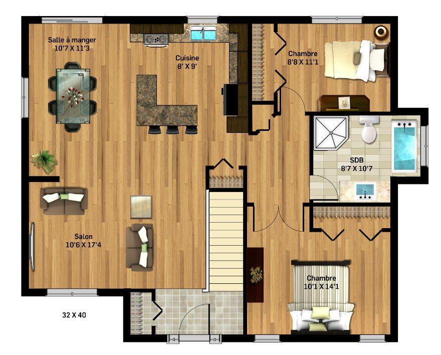 Entreprise familiale du0027Abitibi-Témiscamingue, Maison Nordique inc - site pour plan de maison