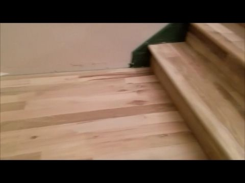 Laminate Stairs Installation How To Install Stair Tread Riser Overlap Nose  Tips Mryoucandoityourself   YouTube | Steps | Pinterest | Hardwood Stairs,  ...