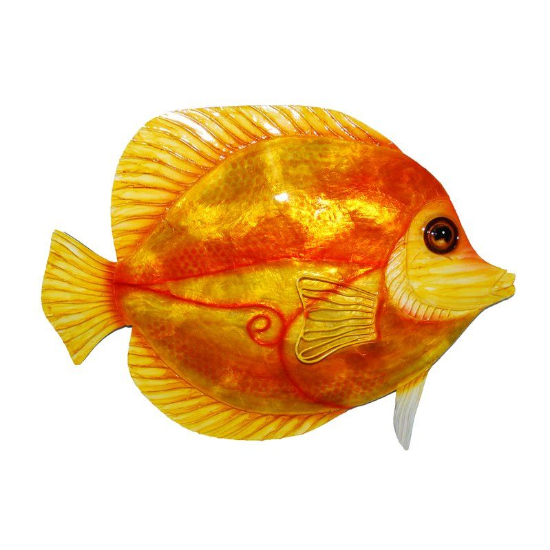 Discus Fish Metal Wall Decor | Discus, Metal walls and Wall décor