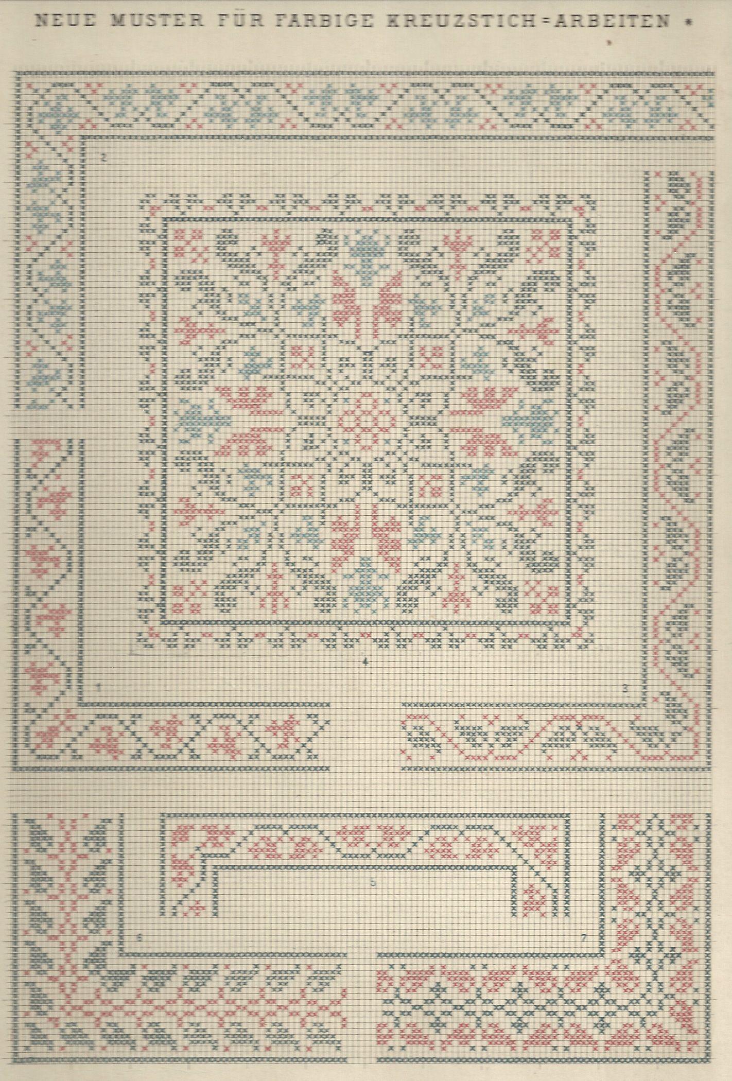 1 / Blatt 1 Textilbibliothek St. Gallen - Neue Muster-Vorlagen Fur ...