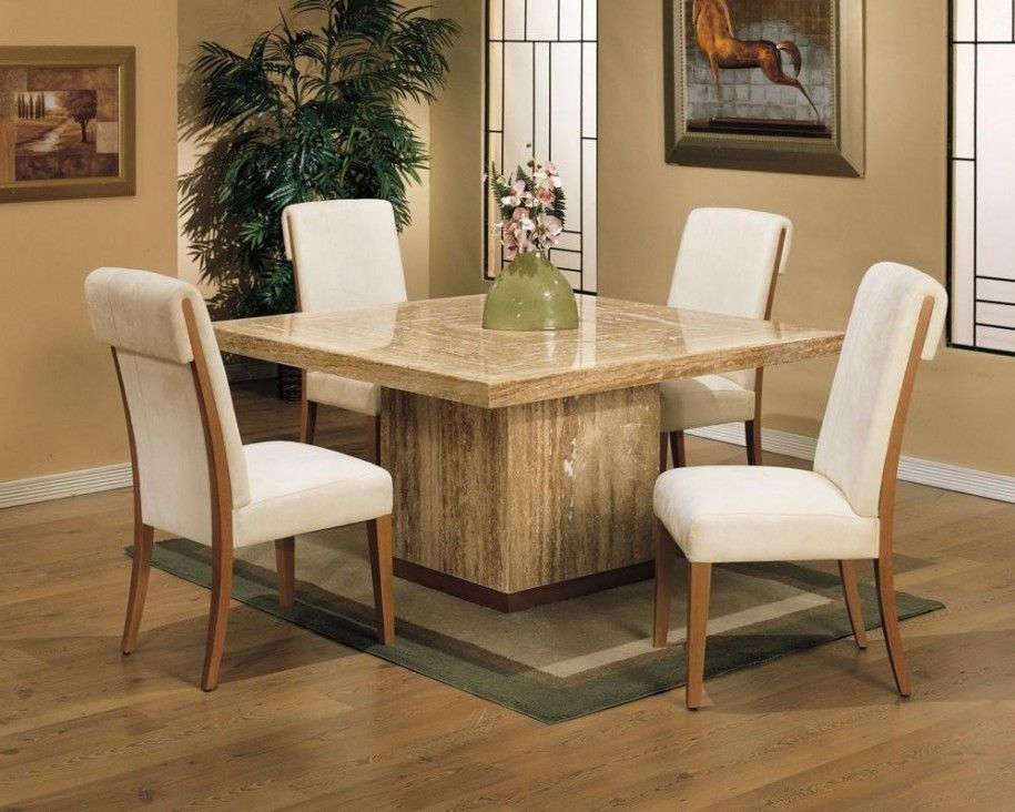Extended Families Enjoy Square Dining Table For 8 Square Dining Table For 8 Travetine Square D With Images Dining Table Marble Square Dining Tables Granite Dining Table