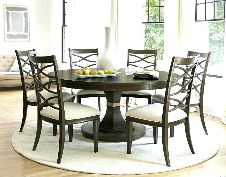 Dining Table Seats 6 Round Kitchen Tables For Seat Glass ...