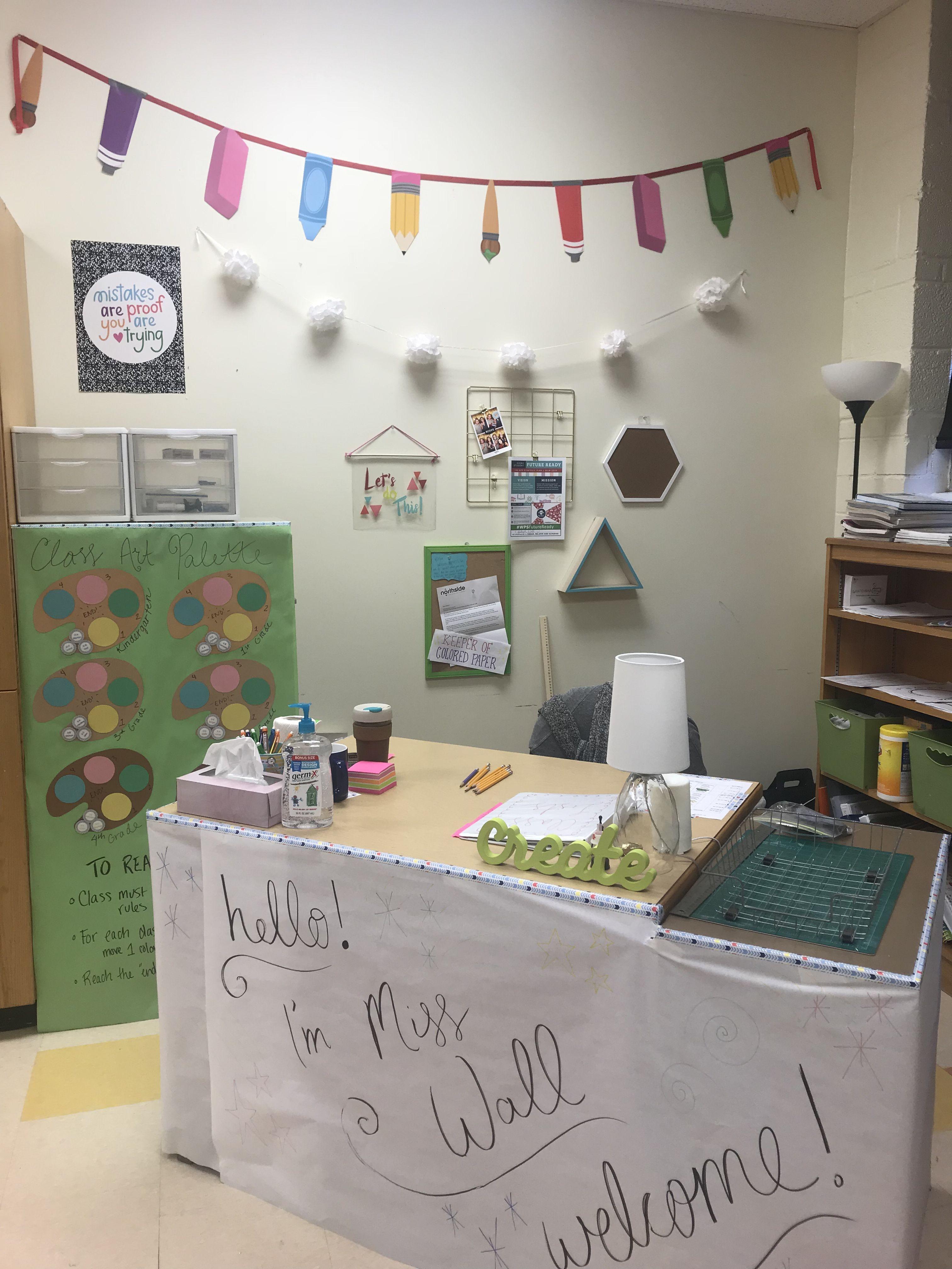 My teacher corner, year one!   Teachers corner, Wall, Decor