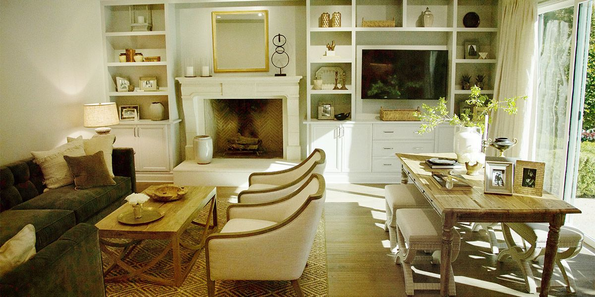 See The New Traditional Makeover From Last Weeku0027s Episode Of Nate And  Jeremiah By Design.