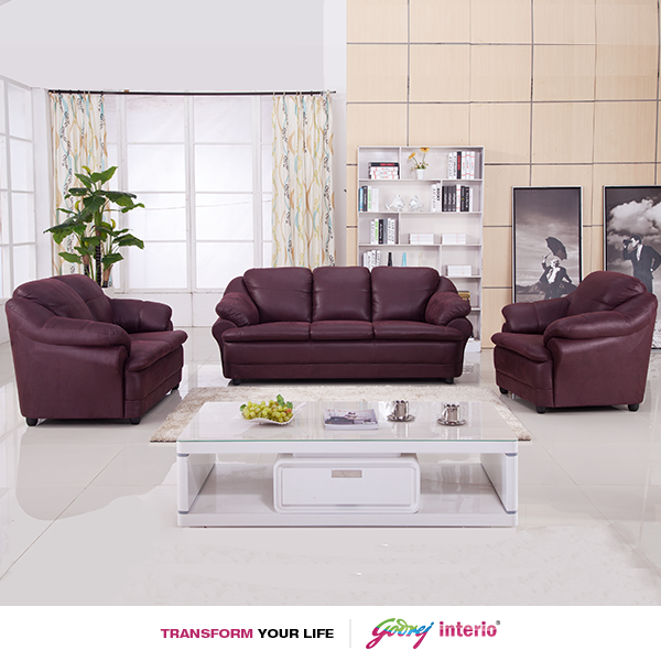 Our Elite Jinerio Sofa Set For Your Home Godrej Interio