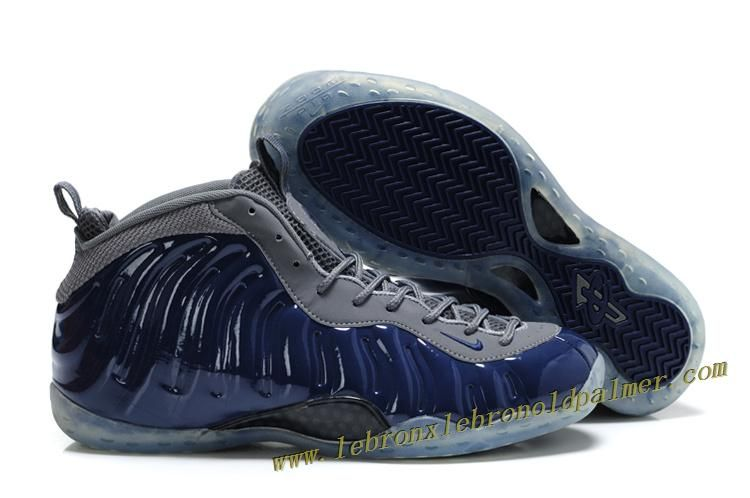 b9472047d10 Nike Air Foamposite One Grey Blue - Penny Hardaway Shoes