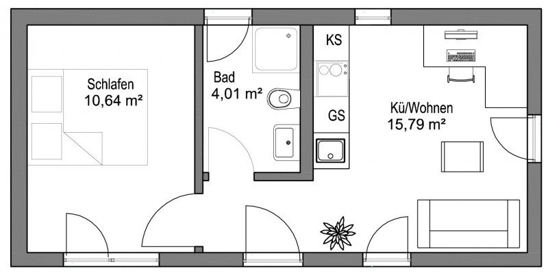 Flexibles Wohnen unter 50 qm mit modularen SmartHouses