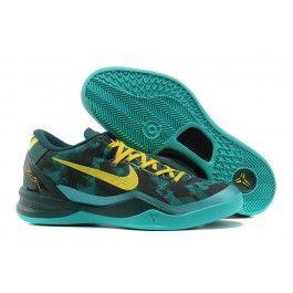 Neu Nike Zoom Kobe VIII Männer Schuhe Grün Gelb Schuhe Online | Cool Nike  Kobe Schuhe