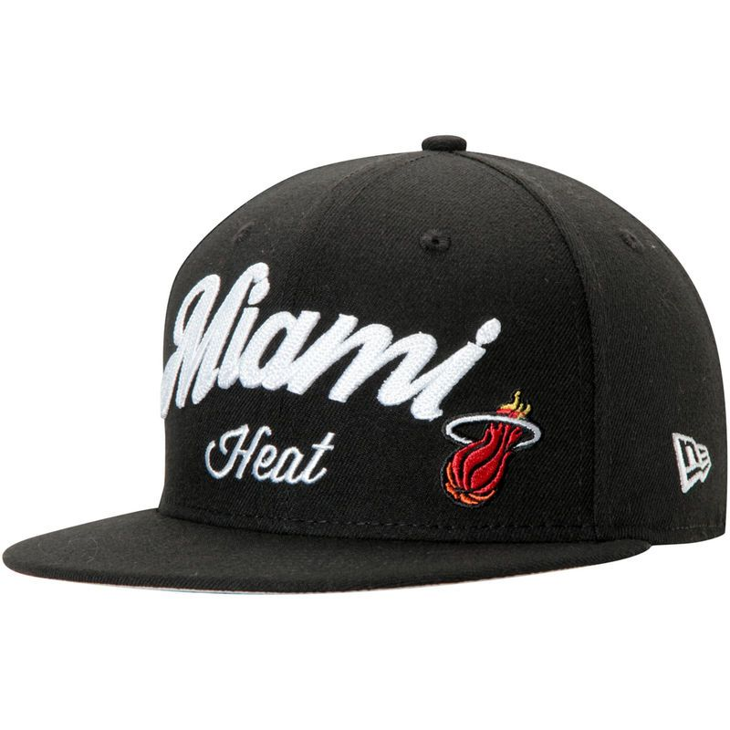 Miami Heat NBA Hardwood Classics New Era 59Fifty Fitted Hat Authentic