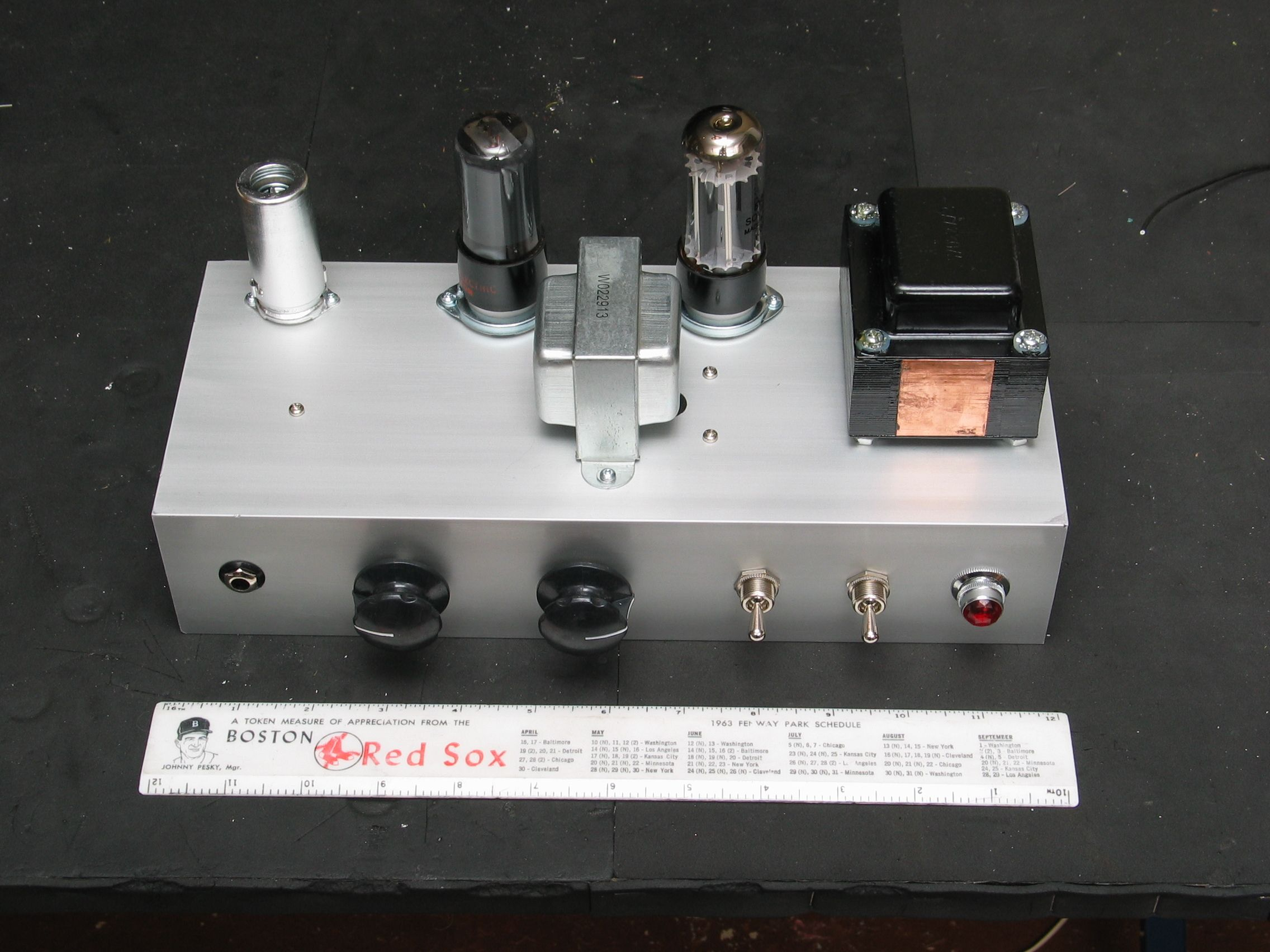 Here Is The Circuit Diagram Pre Amp Overdrive