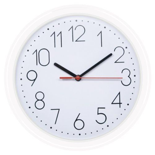 Hito 10 Inch Silent Non Ticking Wall Clock See This Great Product This Is An Affiliate Link And I Receive A Commission Wall Clock Black Wall Clock Clock