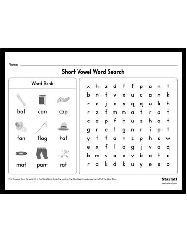 Kindergarten short vowel word search worksheet generator krf3 kindergarten short vowel word search worksheet generator krf3 teach ibookread PDF