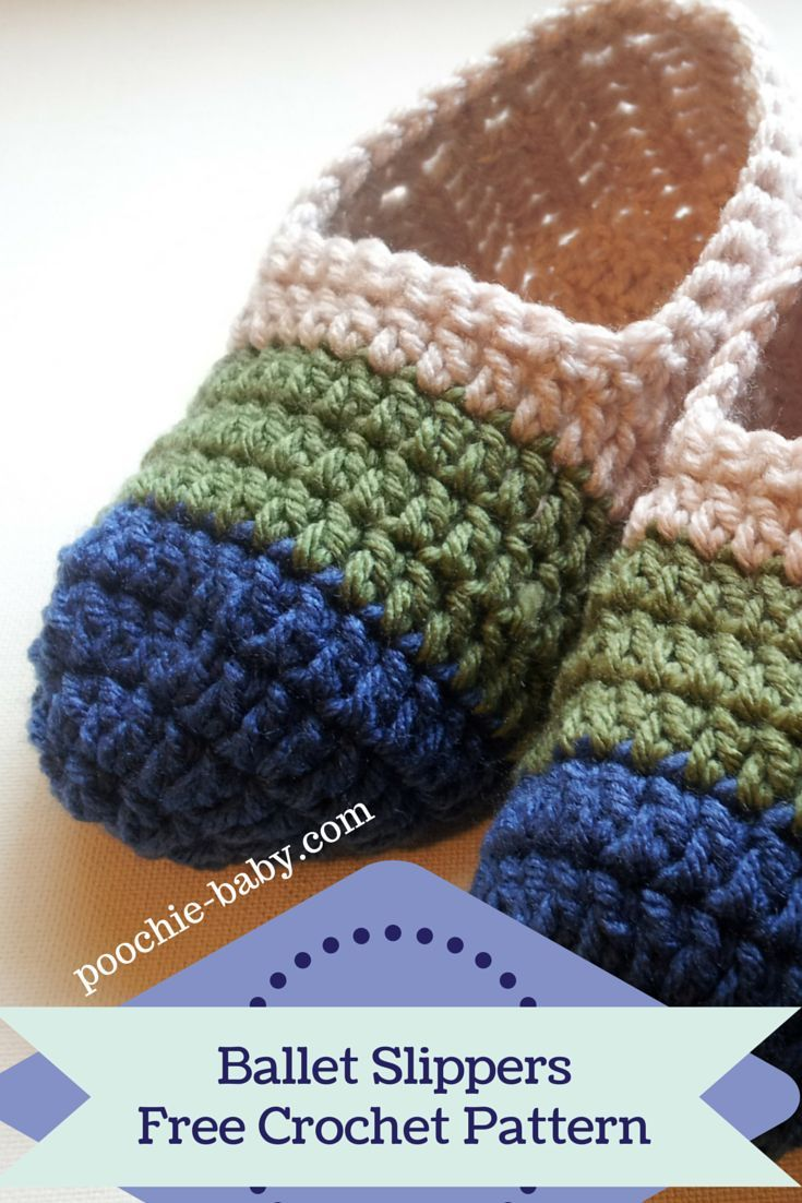 Crochet Loafer Slipper Pattern | Patrón de ganchillo, Ballet y ...