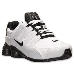 all black nike shoes preschool boy nike shox 867380