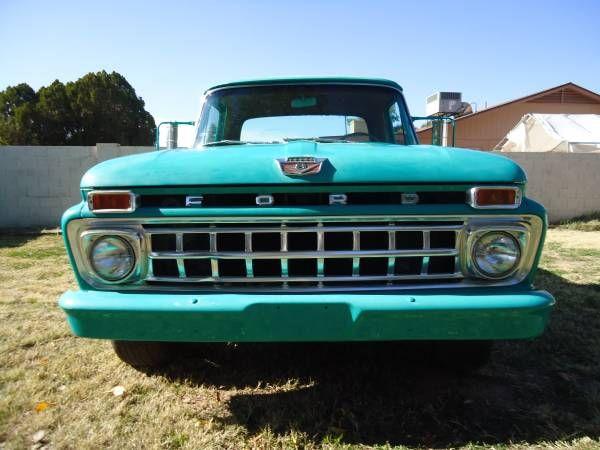 1965 Ford F-100 Pick-up | Trucks, Vehicles, Ford