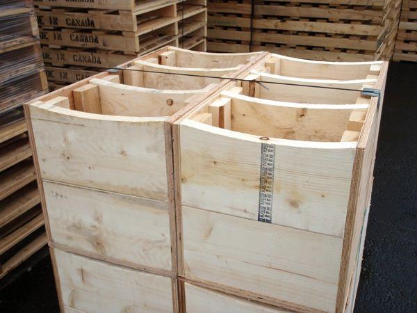 Wood Crates (Kings Wood Products - Paris, Ontario)