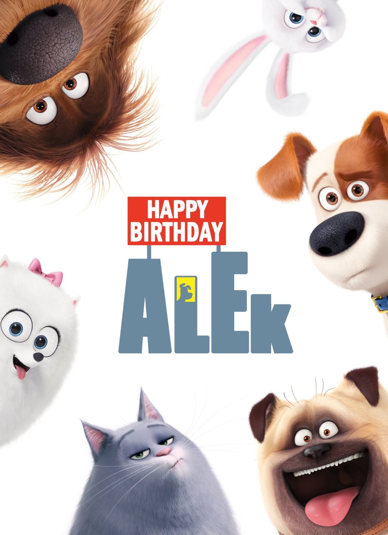 The Secret Life Of Pets Wall Decor Ideas I Made Party Labels Of This Movie For My Son 3th Birthday For Free Pdf F Pets Movie Secret Life Of Pets