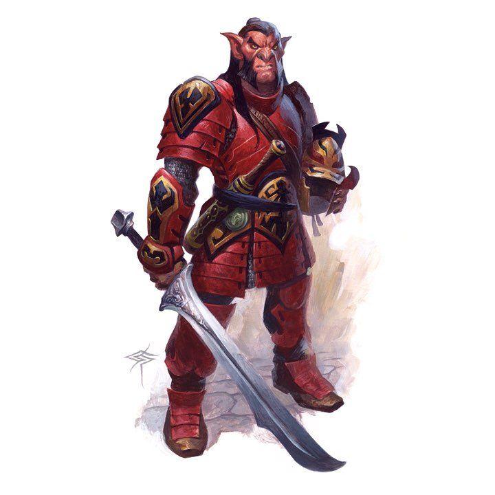20 Hobgoblin Legion ideas | hobgoblin, dungeons and dragons, fantasy monster