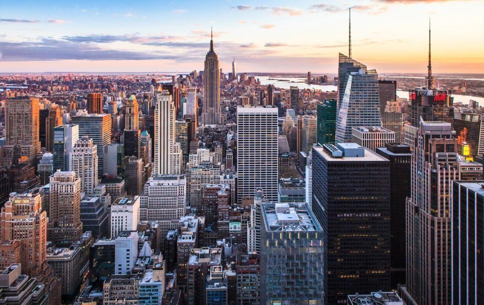 Iphone X 4k Wallpapers New York City Sunset Hd 1080p Wallpaper