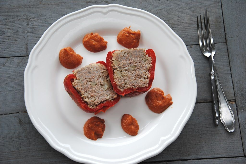 Gevulde paprika met gehakt en rijst. www.gezinsleven.com