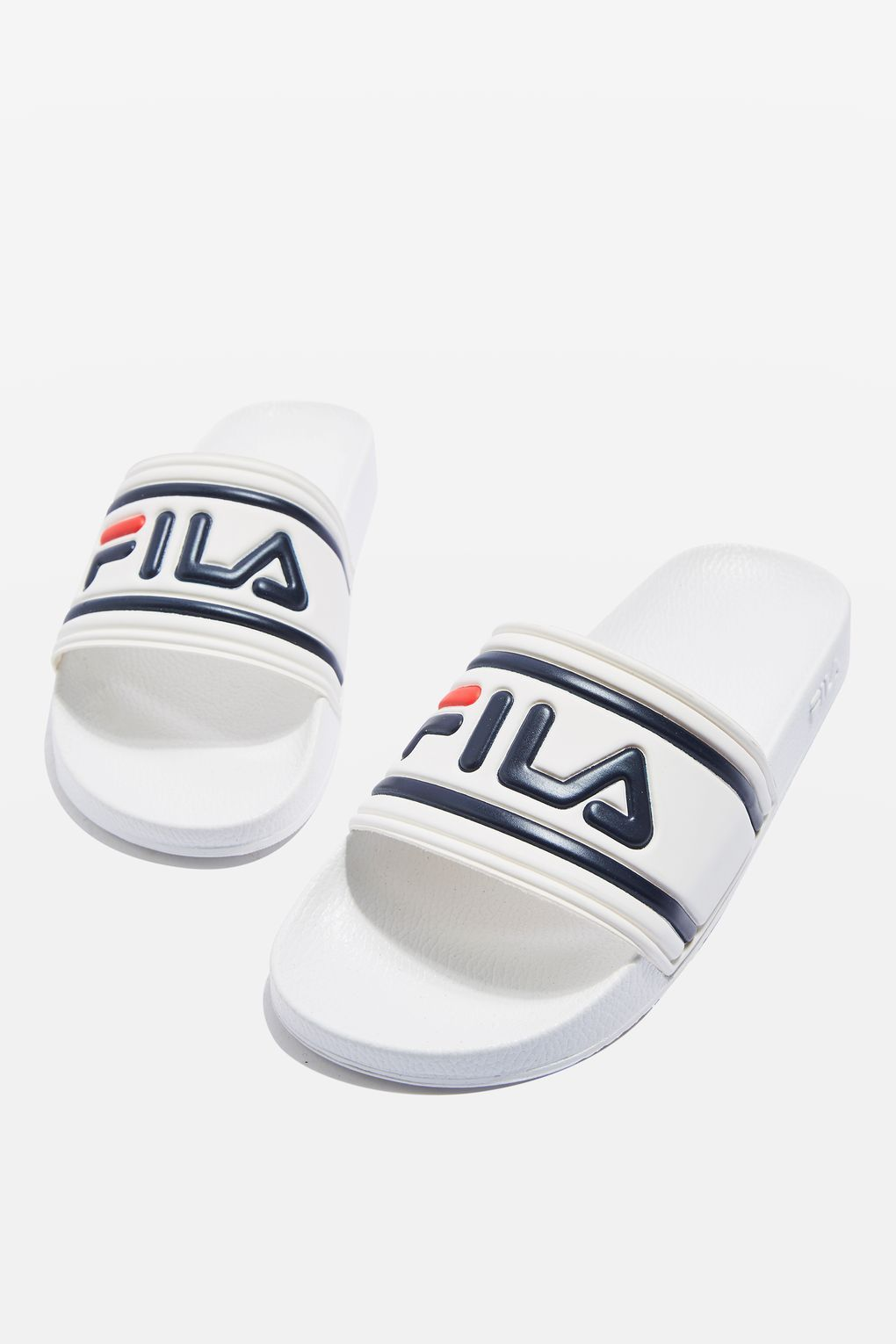 buy cheap marketable clearance under $60 Fila Morro Bay Logo Sliders In Black fashionable lbdu3cGeNJ
