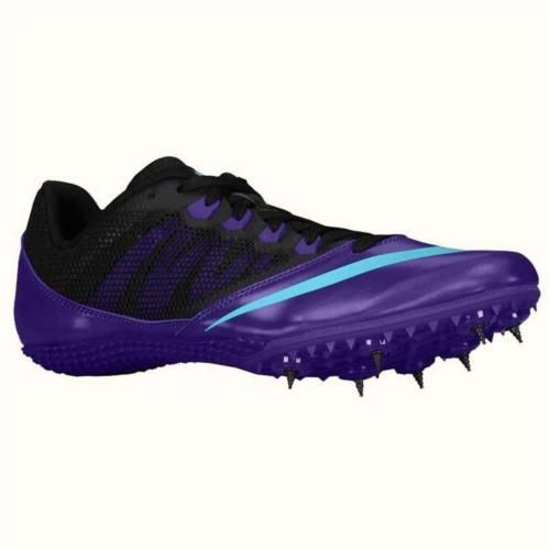 8f24dabafdde NIKE Zoom Rival S Hurdle Track Spikes Shoes Purple Gamma Blue Size 8 Womens