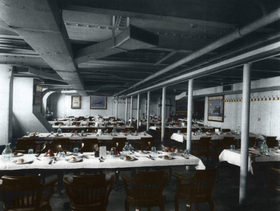 Titanic Interior | Titanic Interior Third Class Titanic Interiors. Photo  Third Great Pictures