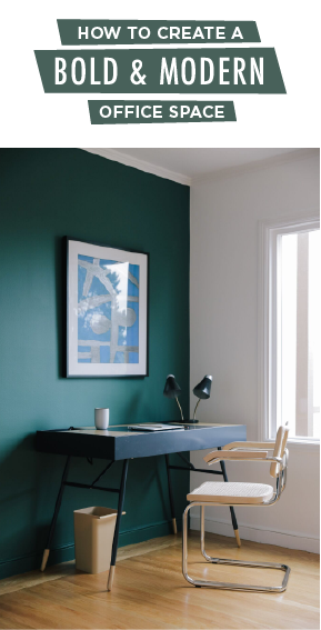 inspire creativity with a bold and modern office space on green office paint color id=40752