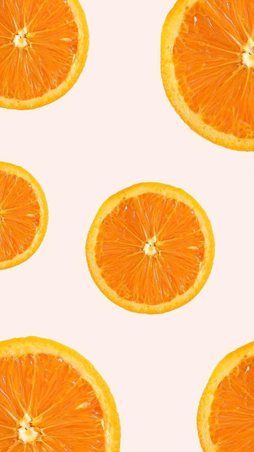 Oranges iPhone Wallpaper Cute patterns wallpaper, Orange