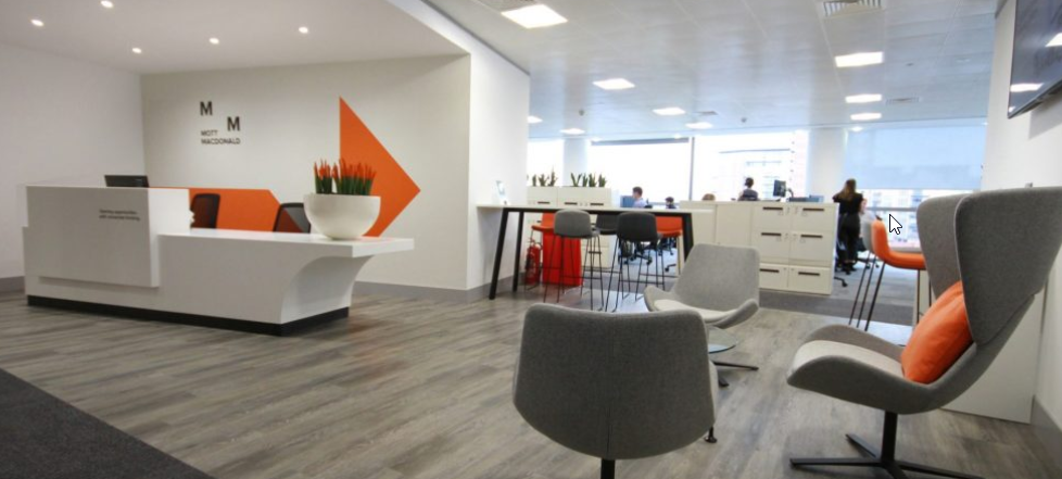 We Designed And Fitted These Offices For Engineers Mott Macdonald In Leeds Design Room Home Decor