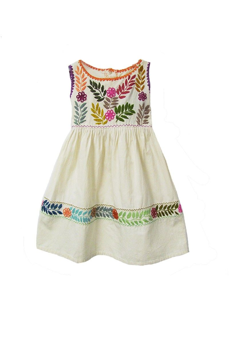 d1ead1d7cb86  35.00 Chiapas Girls Dress
