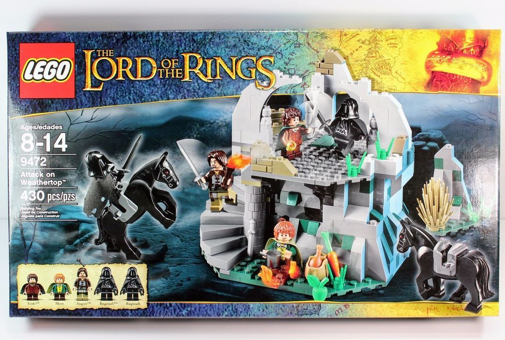 Lego 9472 The Lord Of The Rings Attack On Weathertop New Retired