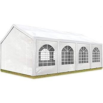 Alice's Garden Pergola Aluminium - Condate 3x4m - Toile Grise - Tonnelle idéale pour Votre ...