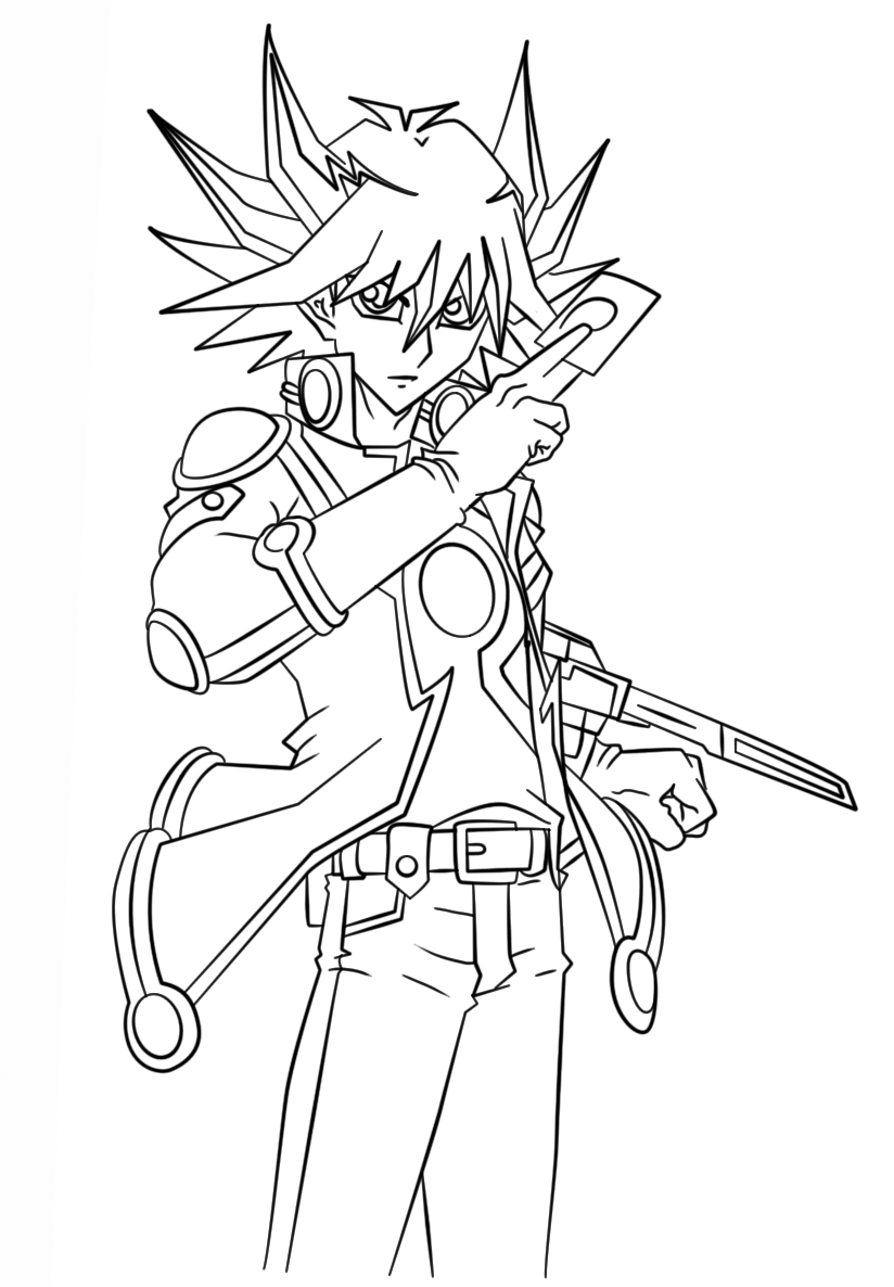 Free Printable Yugioh Coloring Pages For Kids Sailor Moon Coloring Pages Cartoon Coloring Pages Coloring Pages