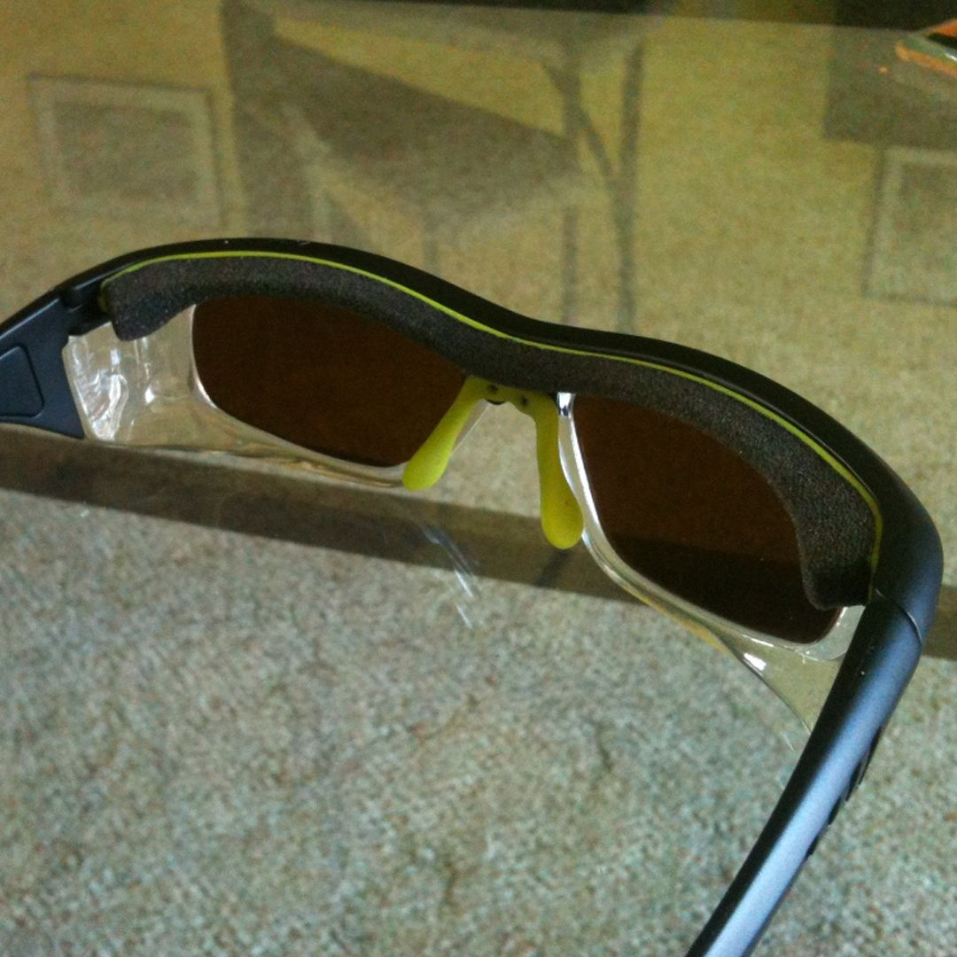 We have Artcraft Safety Glasses that is wraparound and