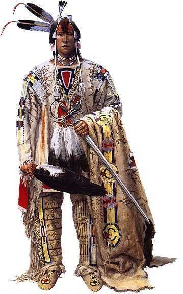 traditional native american warrior clothing - Google Search ...