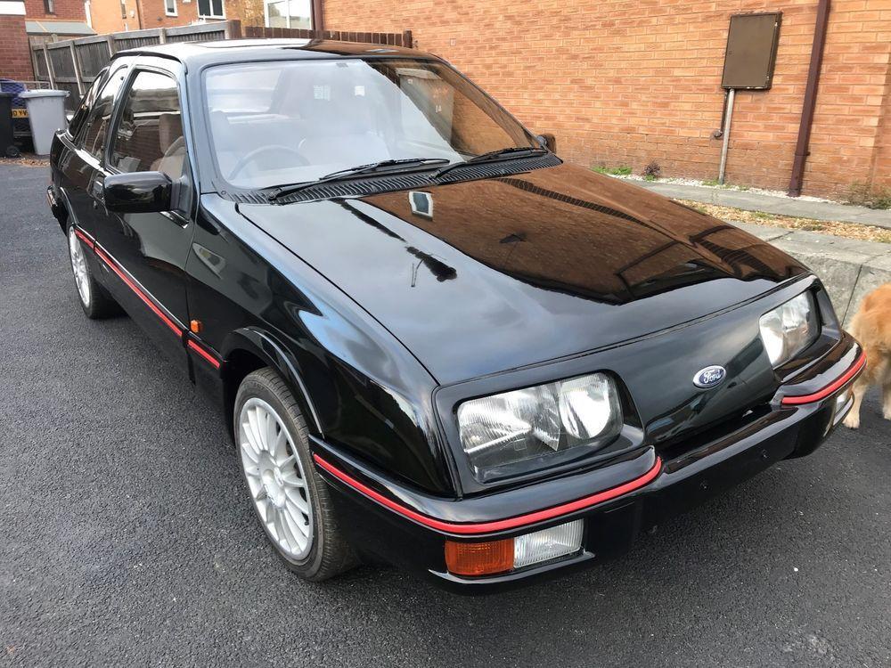 Ebay Ford Sierra Xr4i 1984 Black Near Complete Restoration Ford Sierra Ford Car Ford