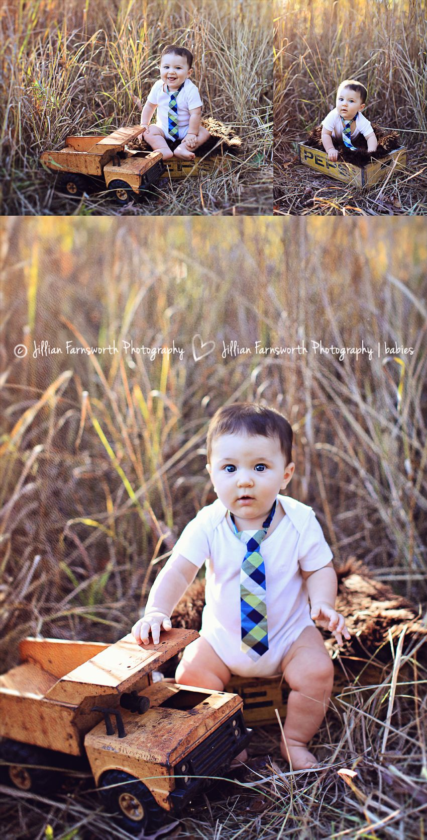 Cute autumn 6 month old boy outdoor photo session by jillian farnsworth baby 6months jillianfarnsworthphotography fallpictures