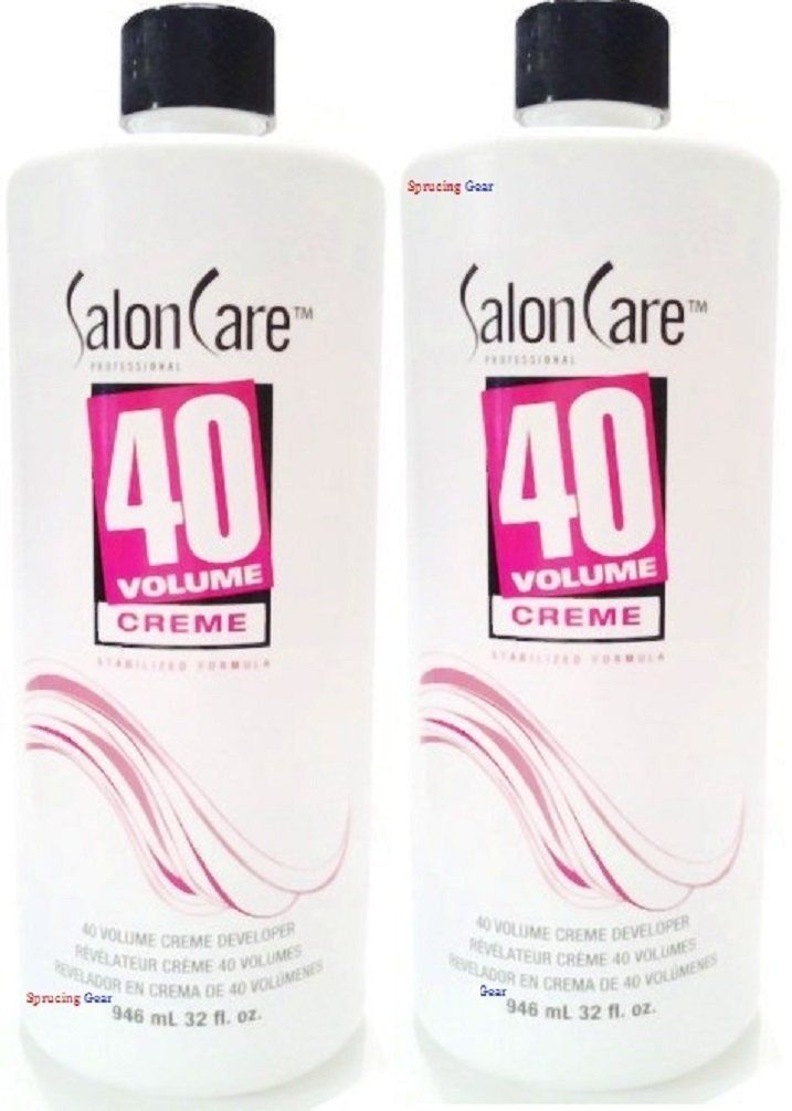 Salon Care 40 Volume Creme Developer 1 2 Gallon Read More Reviews Of The Product By Visiting The Link On The Image Hair Color Developer Creme Shampoo Bottle