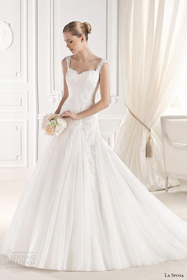La Sposa 2015 Wedding Dresses — Glamour Bridal Collection | La sposa ...