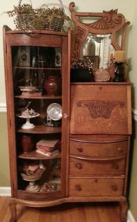 For Jeana Antique Secretary Victorian Furniture