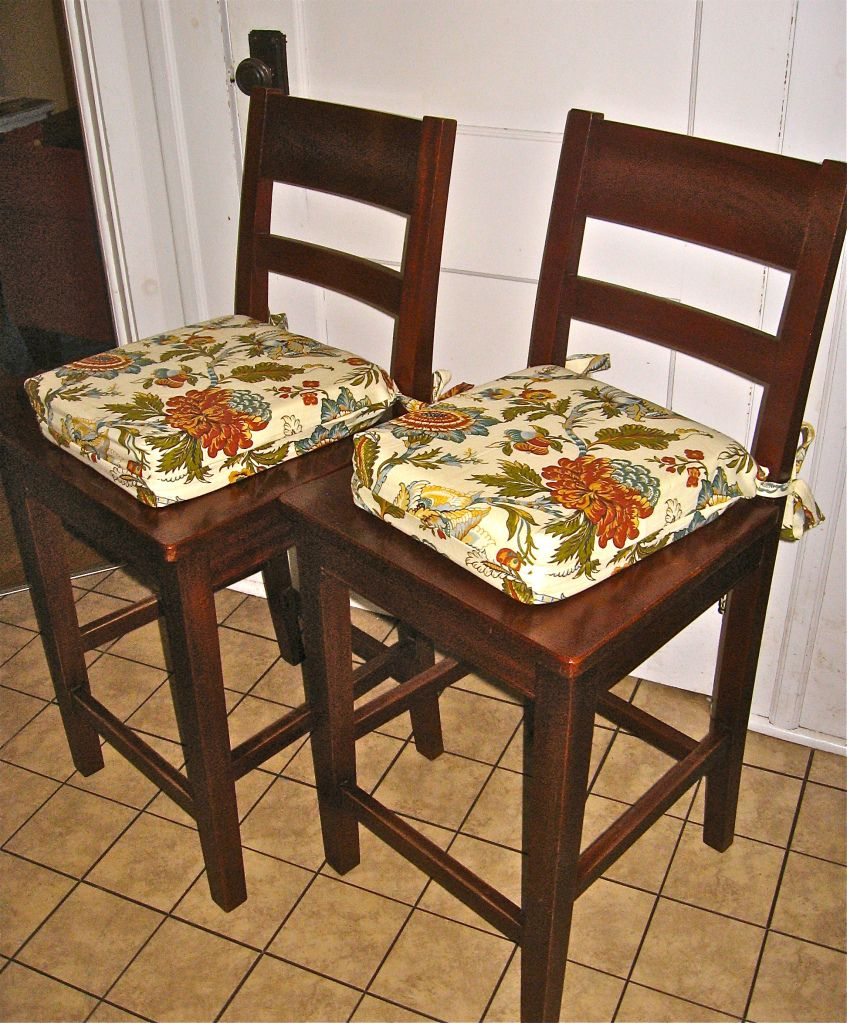 Kitchen Table Chair Cushions: Kitchen Chair Cushions- Pattern