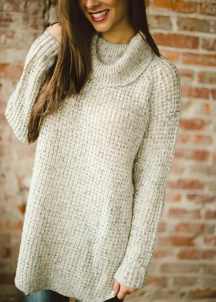 Cowl neck sweater from Piace Boutique