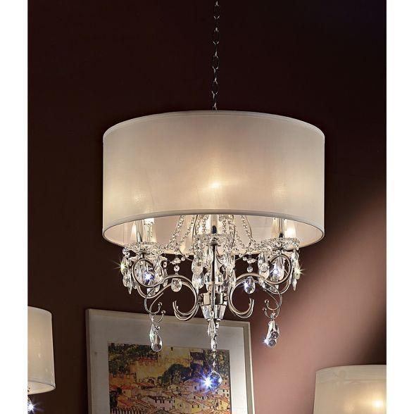 Ore International Ceiling Lights - Silver (25 X 25 X 15 ...