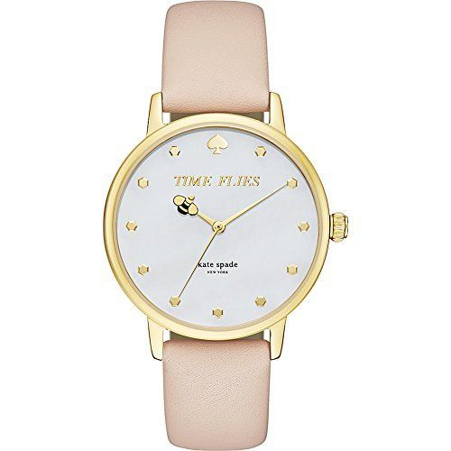 Kate Spade New York Women's Metro Watch, Tan/Gold, One Size, http://www.amazon.com/dp/B0163GMH4G/ref=cm_sw_r_pi_awdm_Okgkxb05VRY6Q