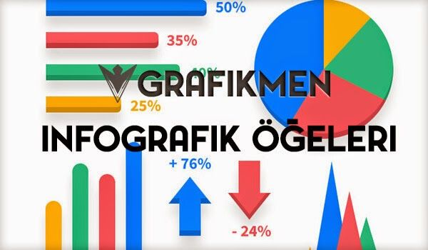 Ücretsiz İnfografik Öğeleri PSD